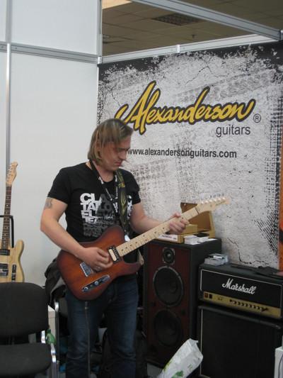 Дмитрий Андрианов на NAMM Musikmesse Russia 2012