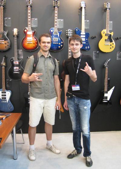 Я и Макс из Kombik.com