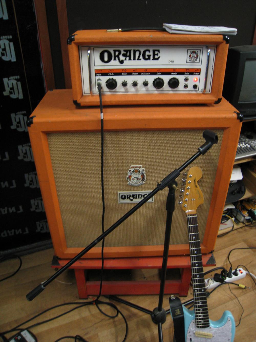 Усилитель и кабинет Оранж